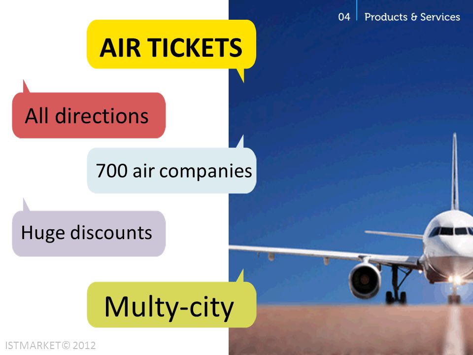 Multy-city AIR TICKETS All directions 700 air companies Huge discounts