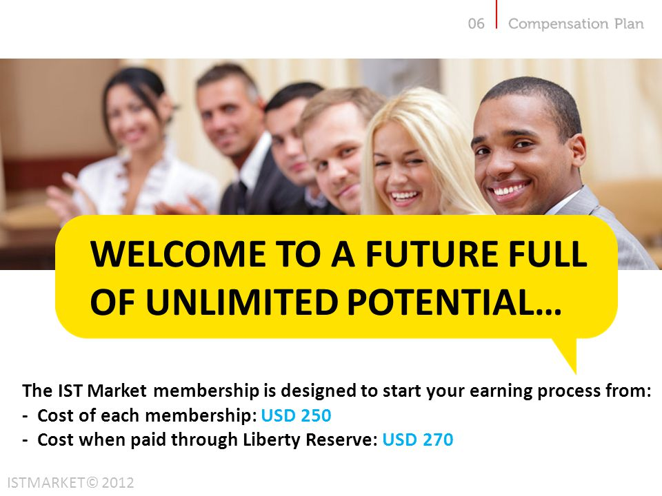 WELCOME TO A FUTURE FULL OF UNLIMITED POTENTIAL…