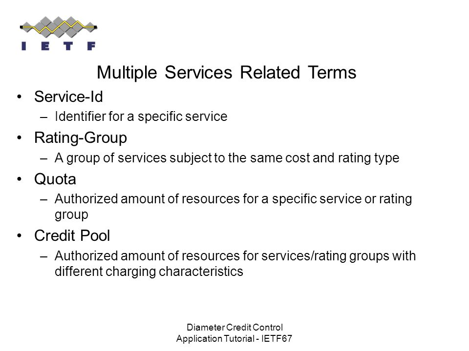 Multiple Services Related Terms