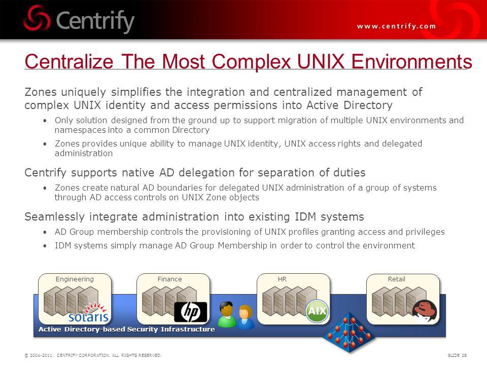 Centralize The Most Complex UNIX Environments