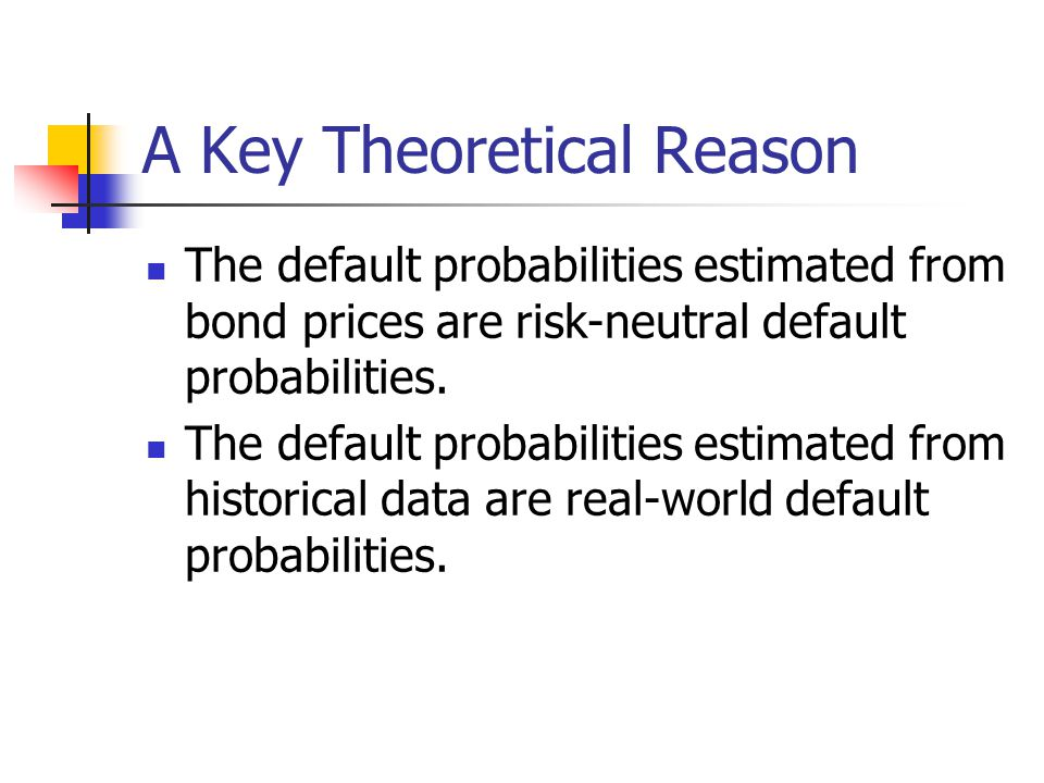 A Key Theoretical Reason