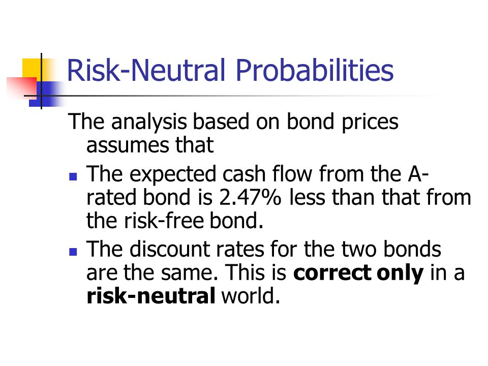 Risk-Neutral Probabilities