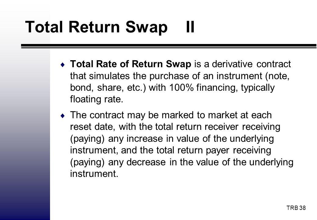 Total Return Swap II