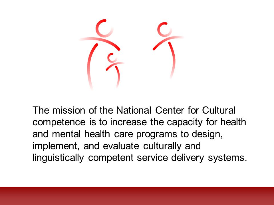Slide Source: The National Center for Cultural Competence, 2006