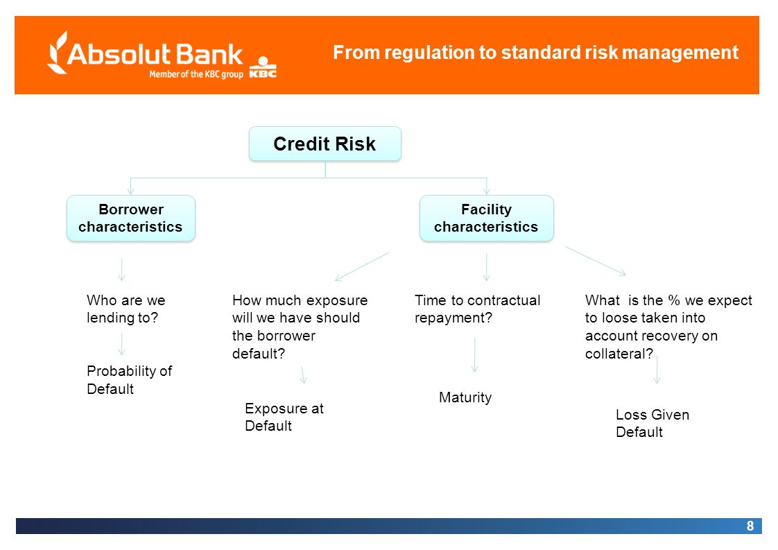 Borrower characteristics Facility characteristics