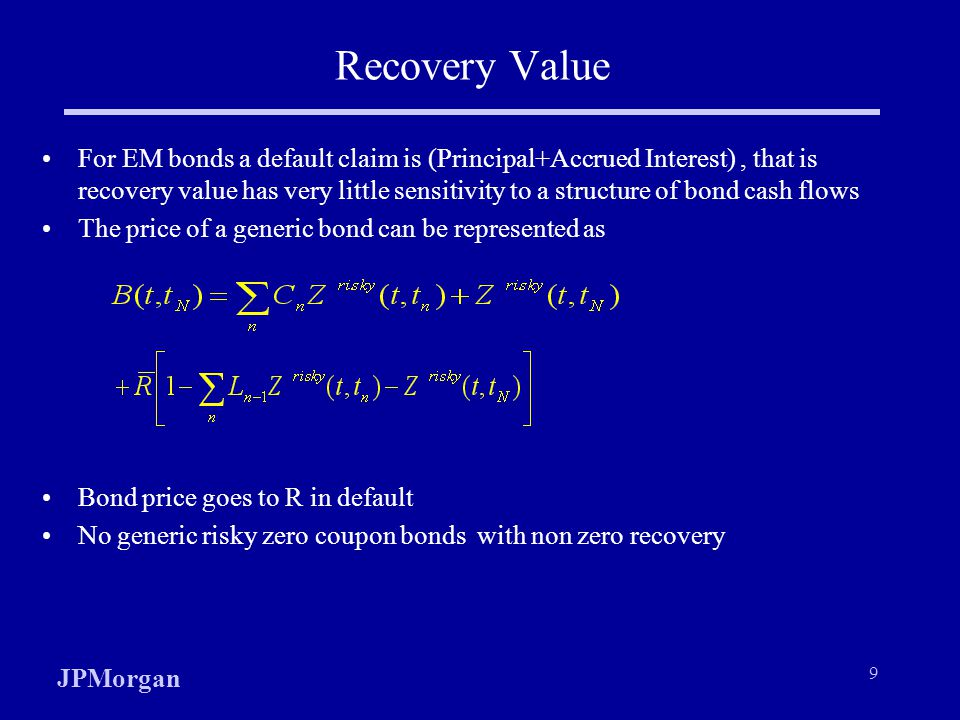 Recovery Value