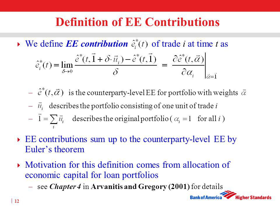 Definition of EE Contributions