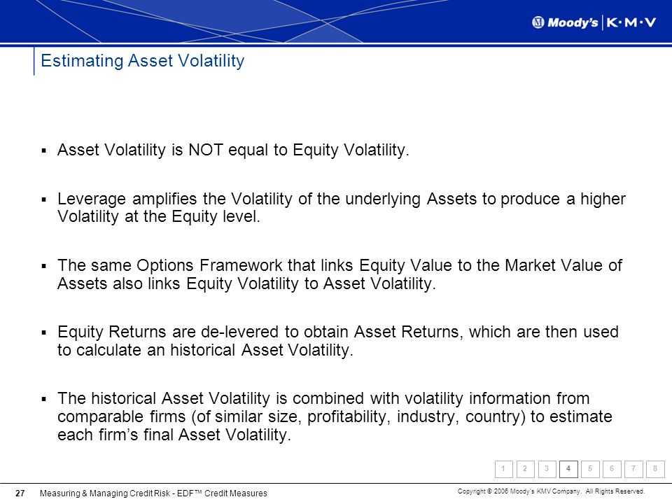 Estimating Asset Volatility