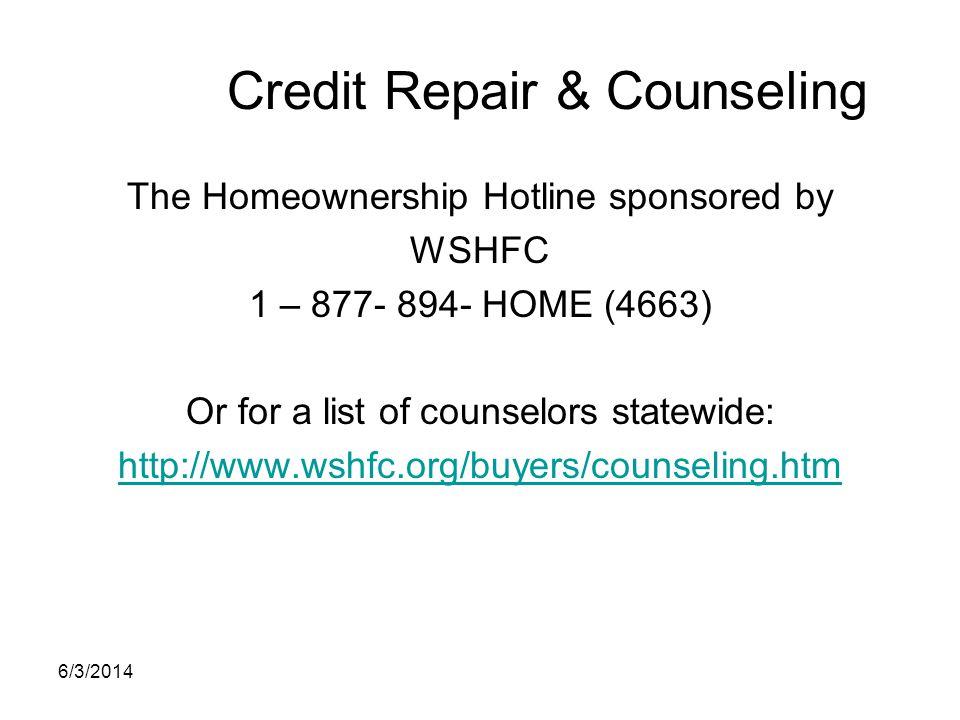 Credit Repair & Counseling