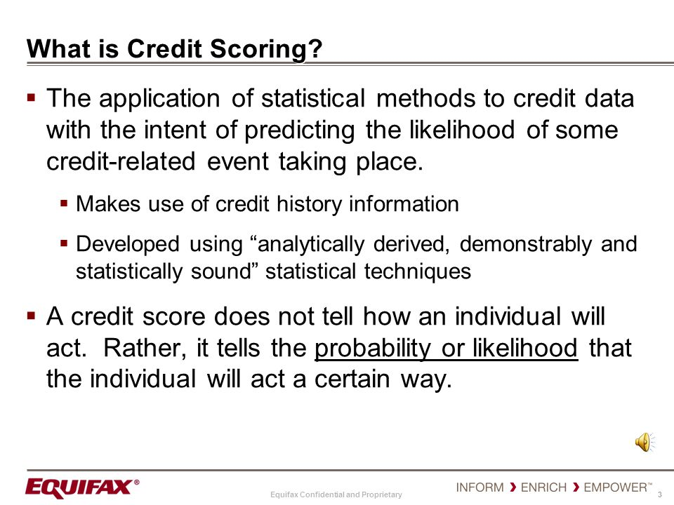 What is Credit Scoring