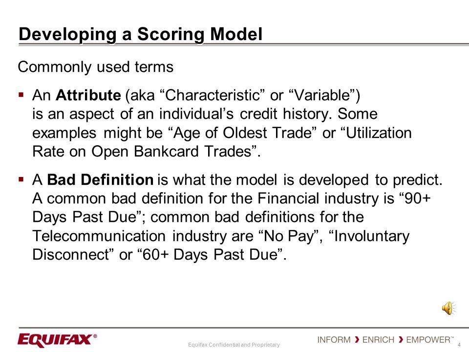Developing a Scoring Model