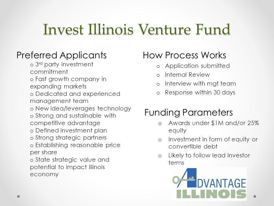 Invest Illinois Venture Fund