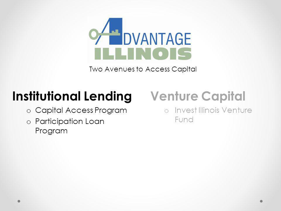 Two Avenues to Access Capital