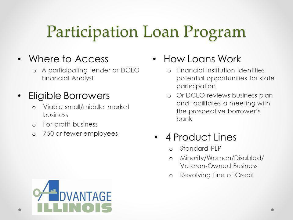 Participation Loan Program