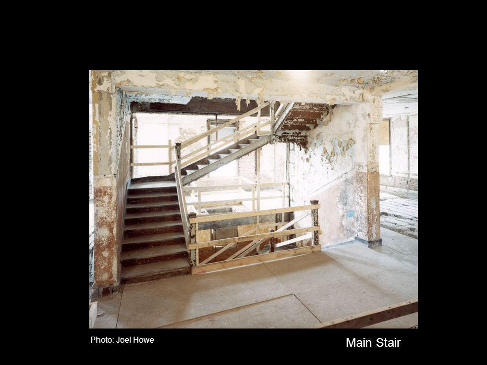 Photo: Joel Howe Main Stair