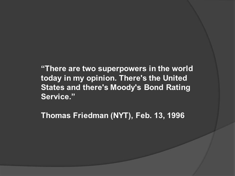 Thomas Friedman (NYT), Feb. 13, 1996