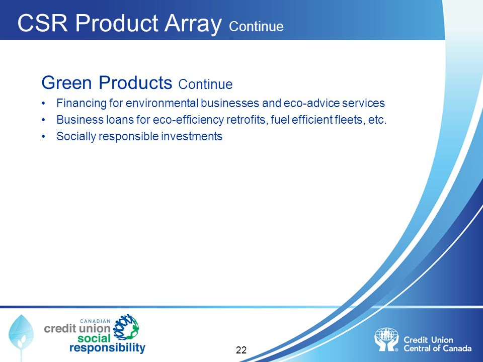 CSR Product Array Continue