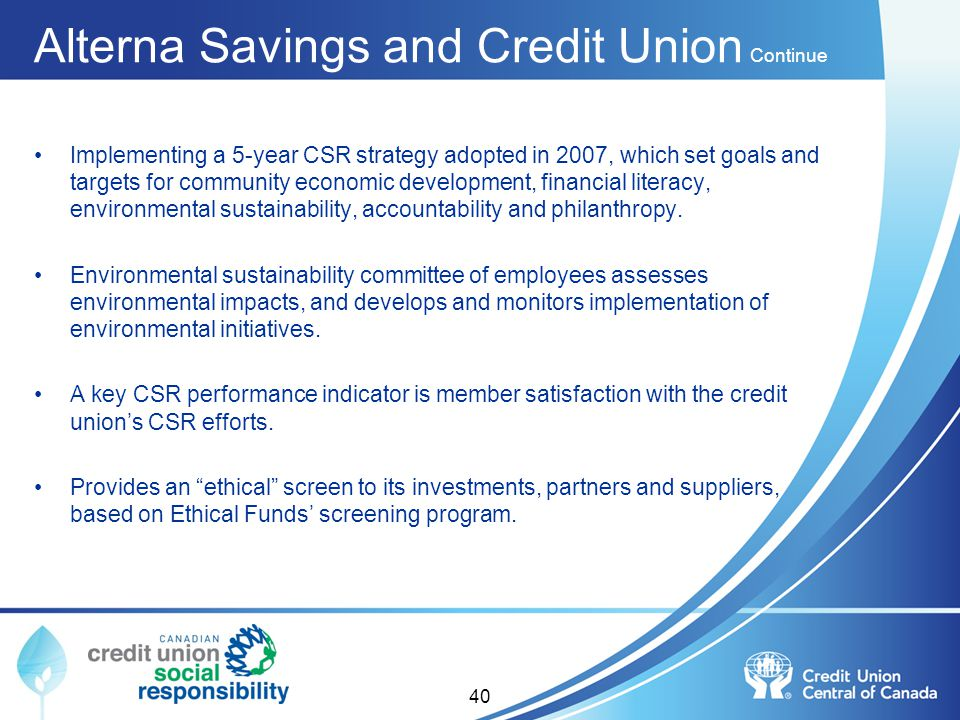 Alterna Savings and Credit Union Continue