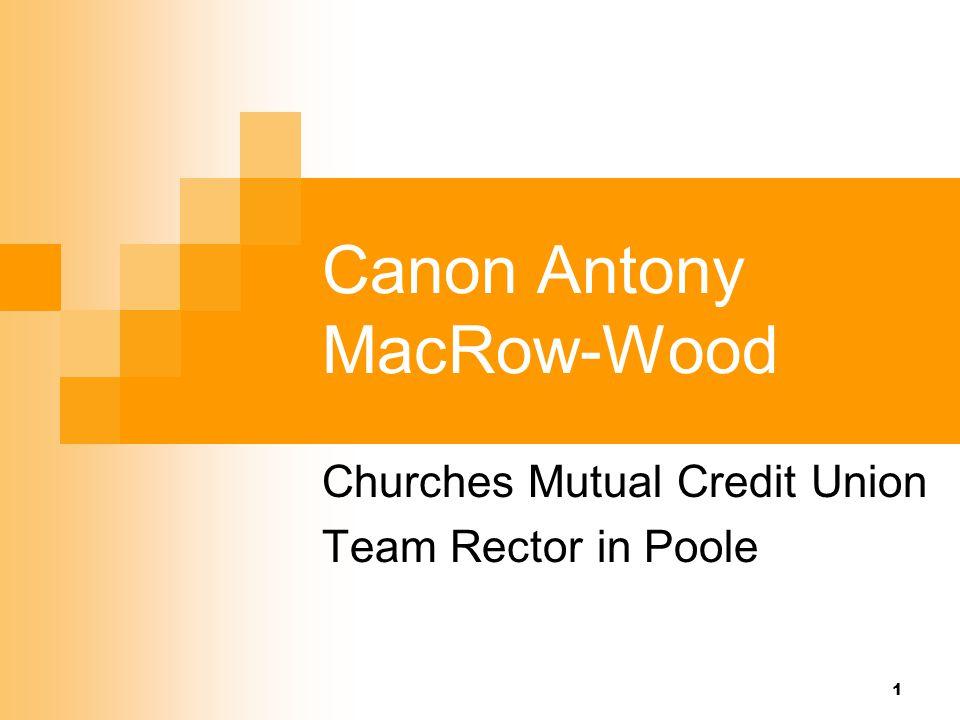 Canon Antony MacRow-Wood