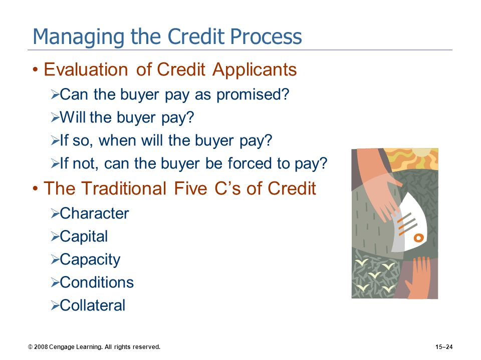 Managing the Credit Process