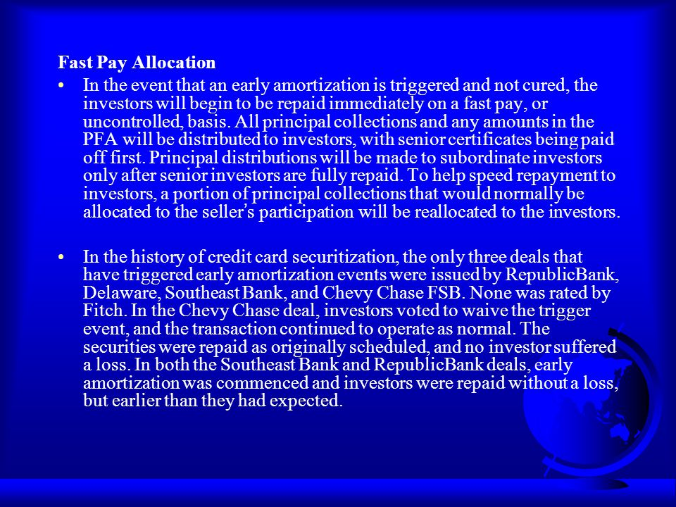 Fast Pay Allocation