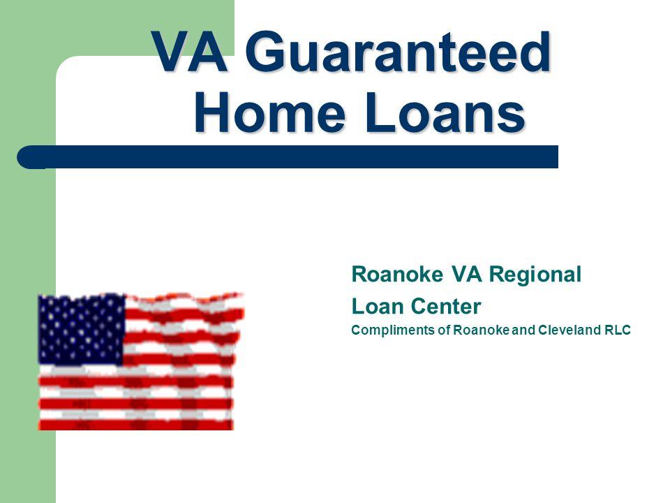 VA Guaranteed Home Loans