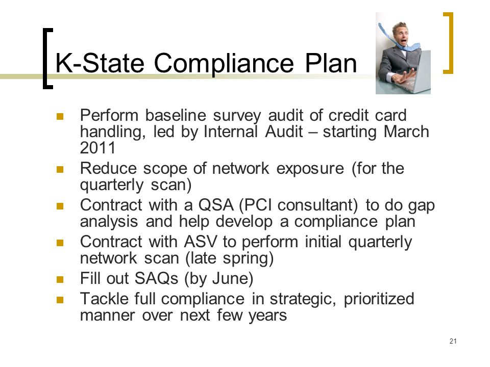 K-State Compliance Plan