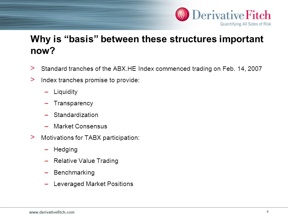 Framework for Understanding Basis Risk in Subprime RMBS Portfolios