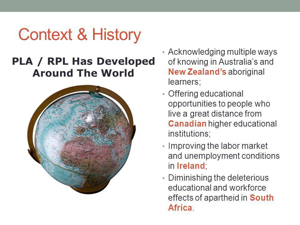 PLA / RPL Has Developed Around The World