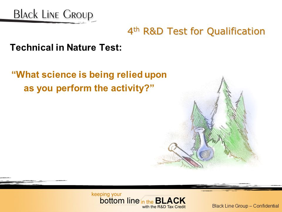 4th R&D Test for Qualification