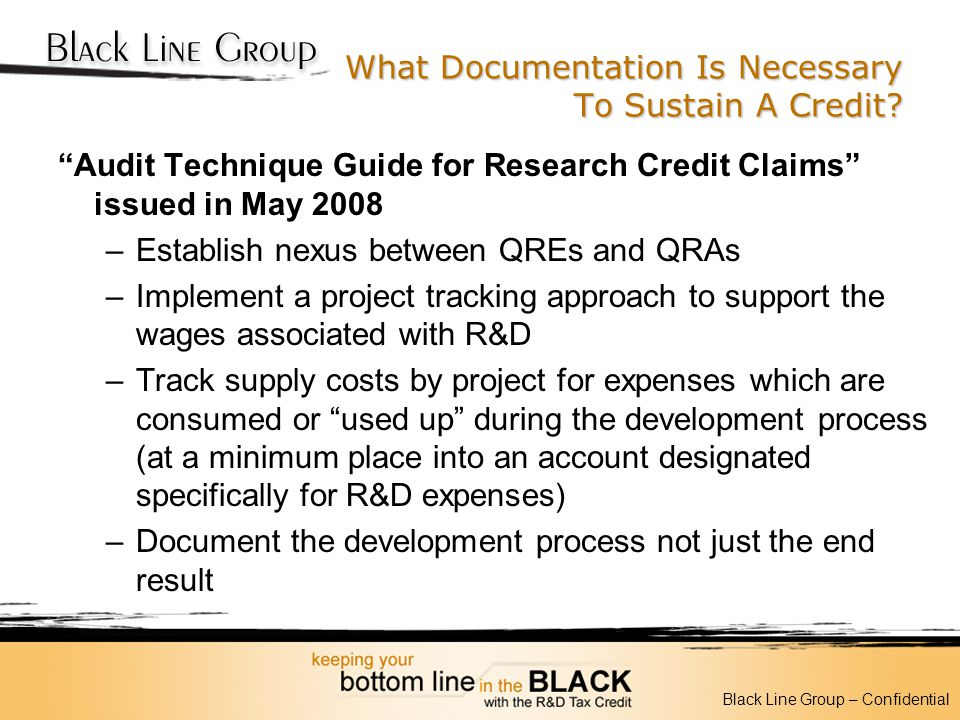 What Documentation Is Necessary To Sustain A Credit