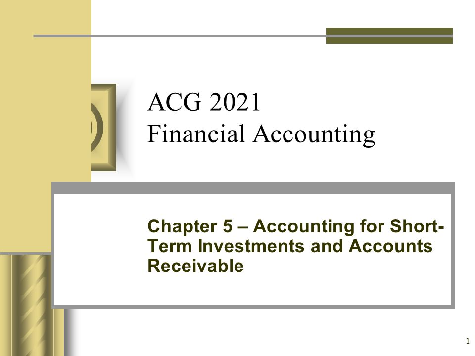 ACG 2021 Financial Accounting