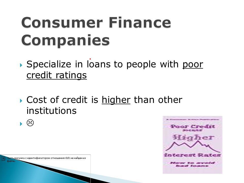 Consumer Finance Companies