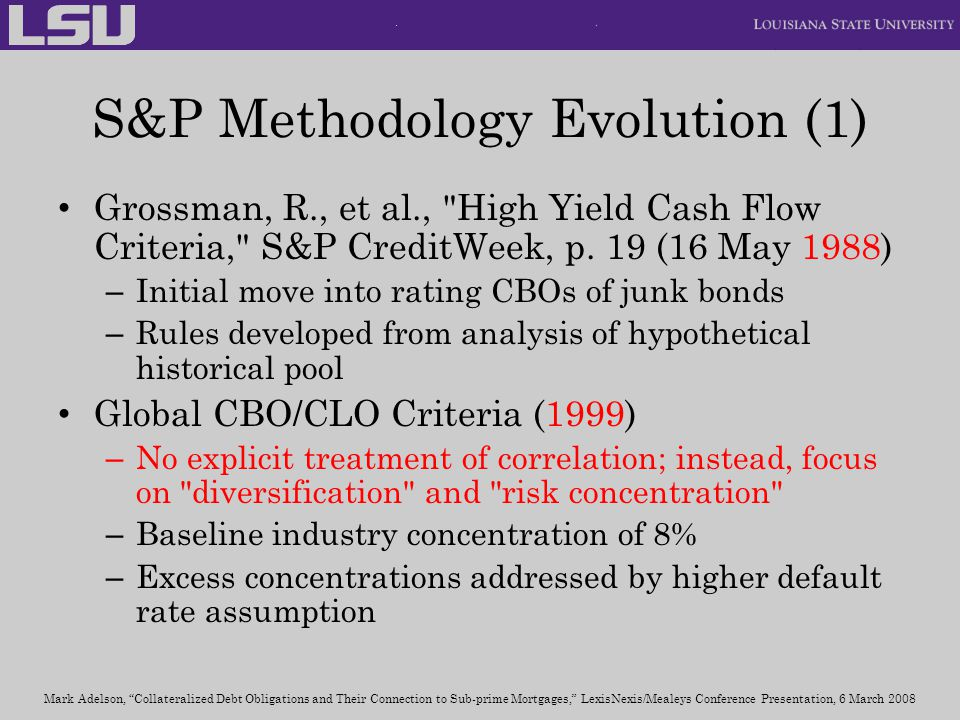 S&P Methodology Evolution (1)
