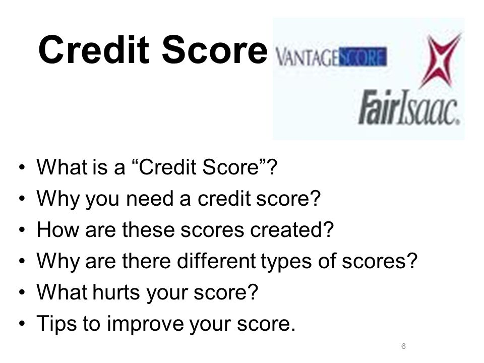 Credit Score What is a Credit Score Why you need a credit score
