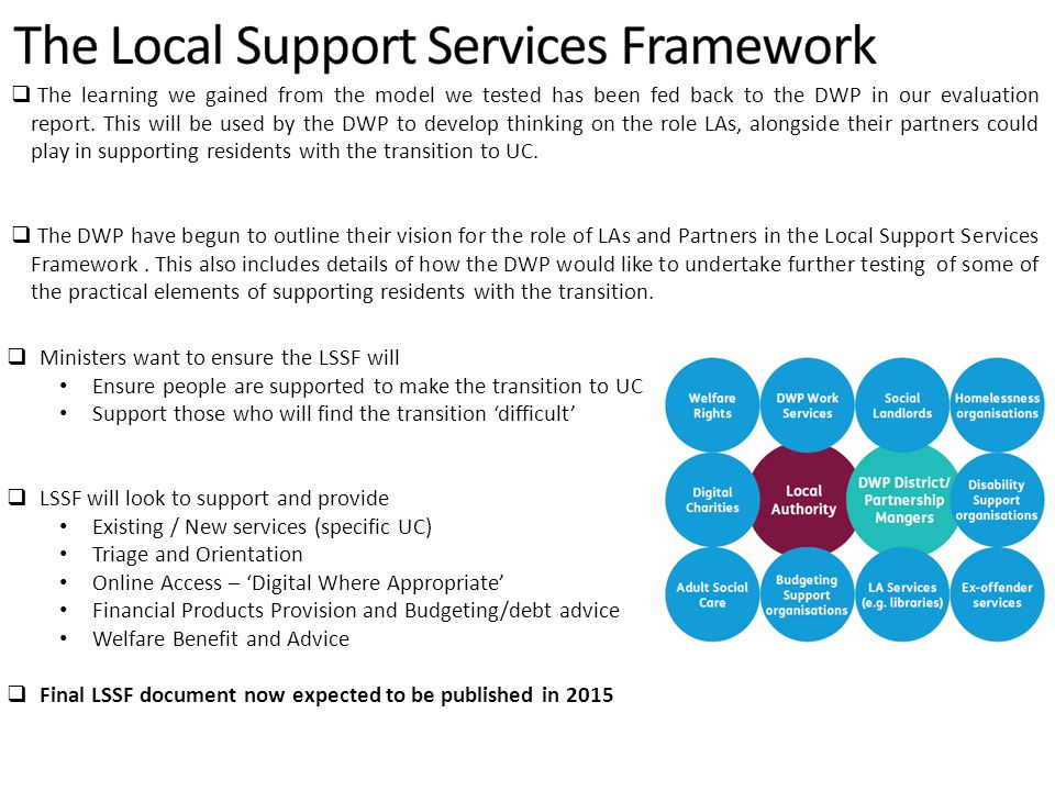 The Local Support Services Framework