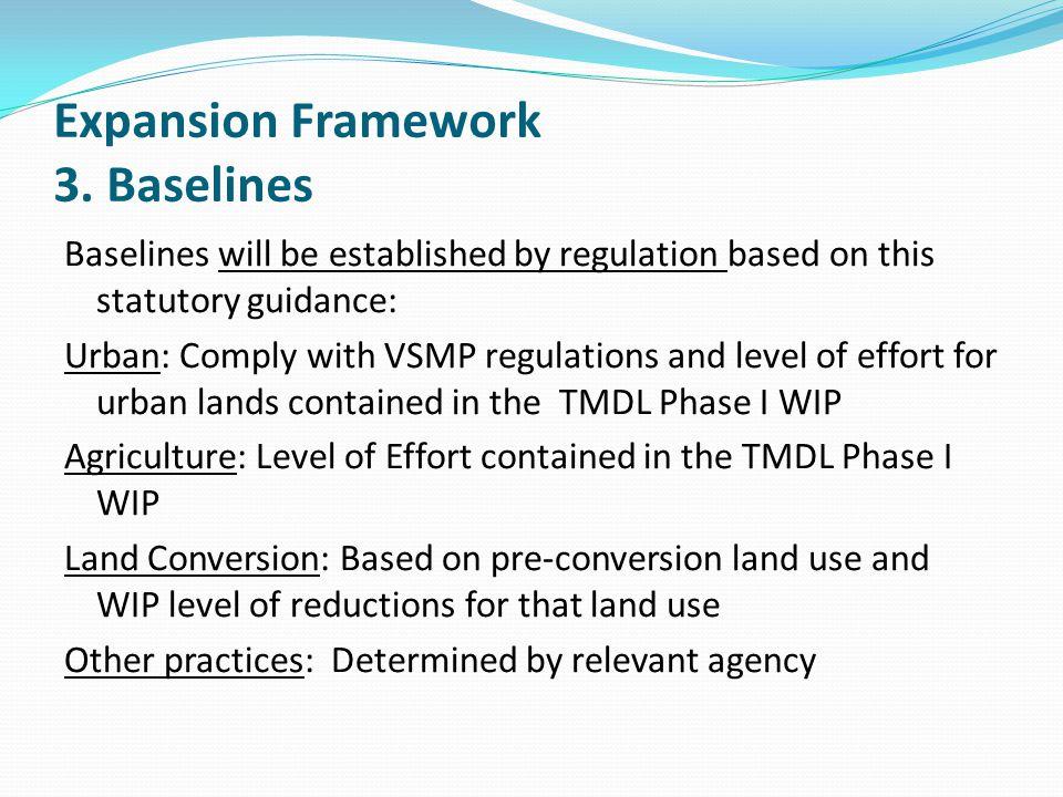 Expansion Framework 3. Baselines