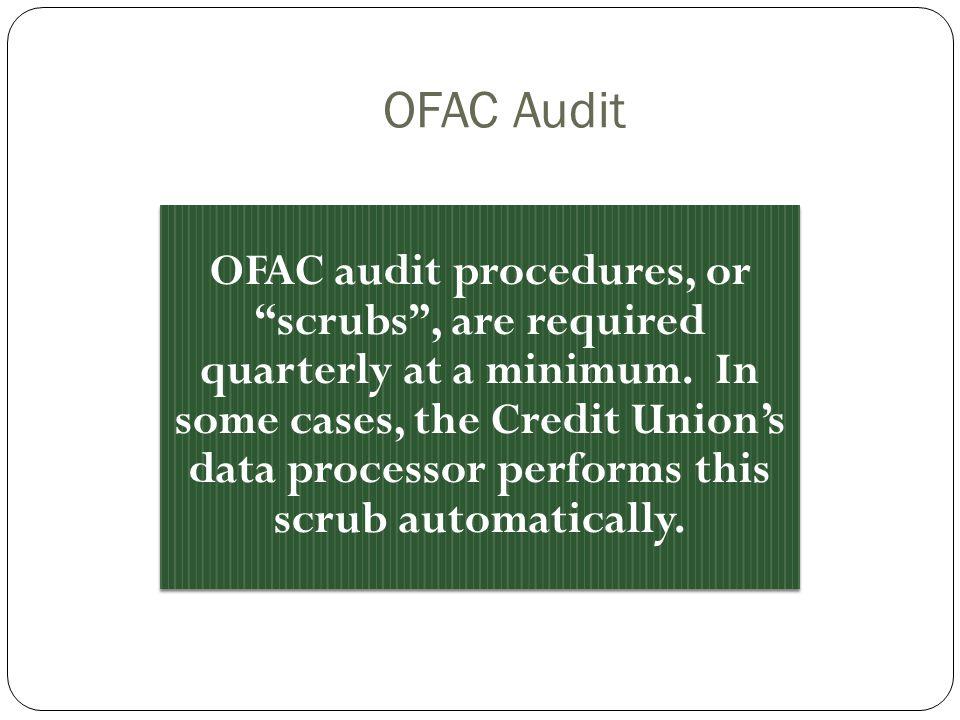 OFAC Audit