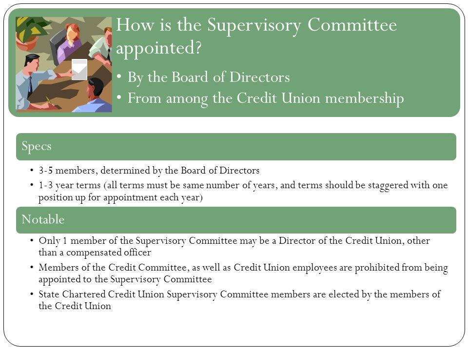 How is the Supervisory Committee appointed