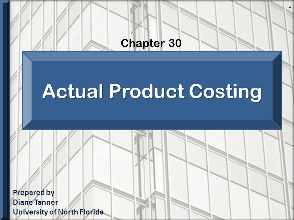 Actual Product Costing