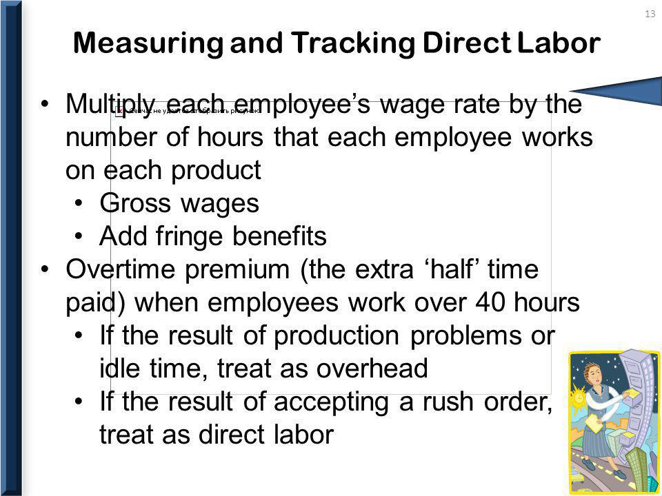 Measuring and Tracking Direct Labor