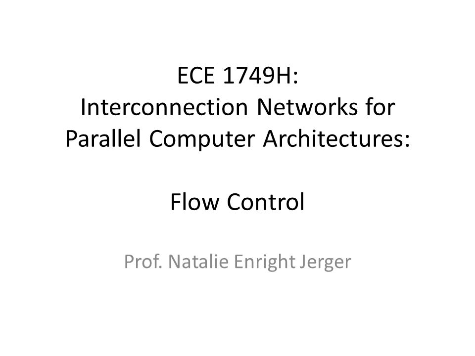 Prof. Natalie Enright Jerger