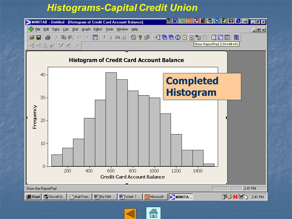 Histograms-Capital Credit Union