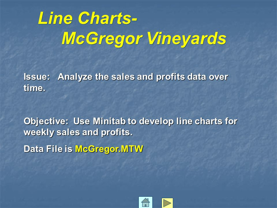 Line Charts- McGregor Vineyards