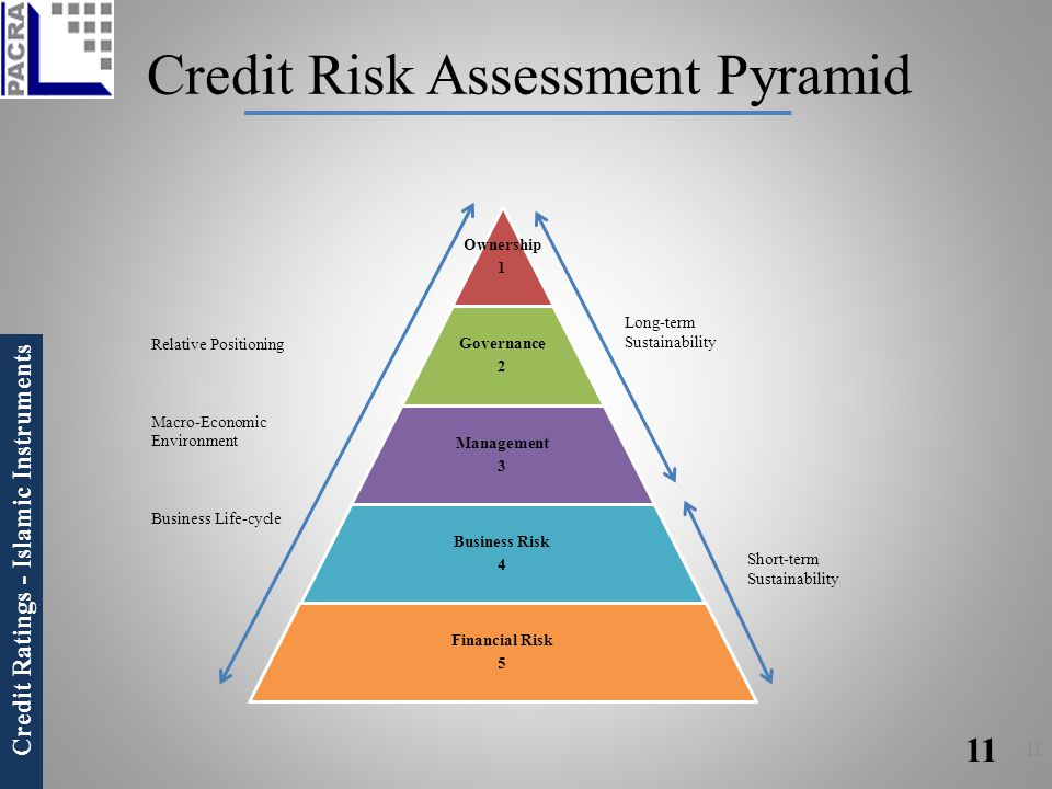 Credit Risk Assessment Pyramid