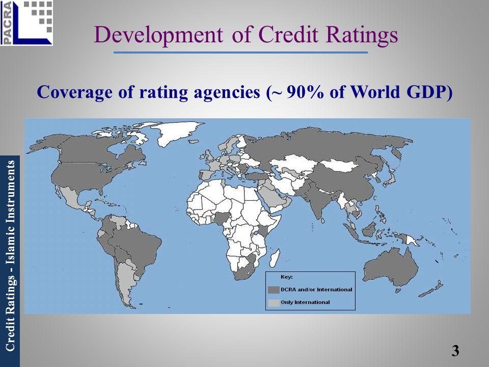 Development of Credit Ratings