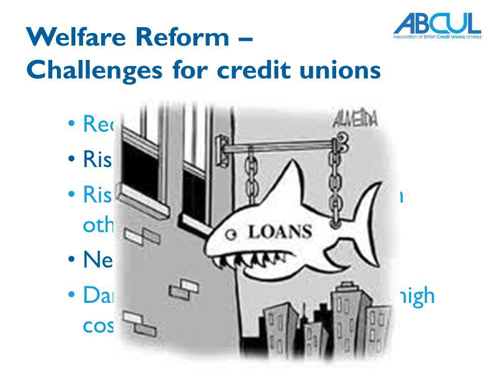 Challenges for credit unions