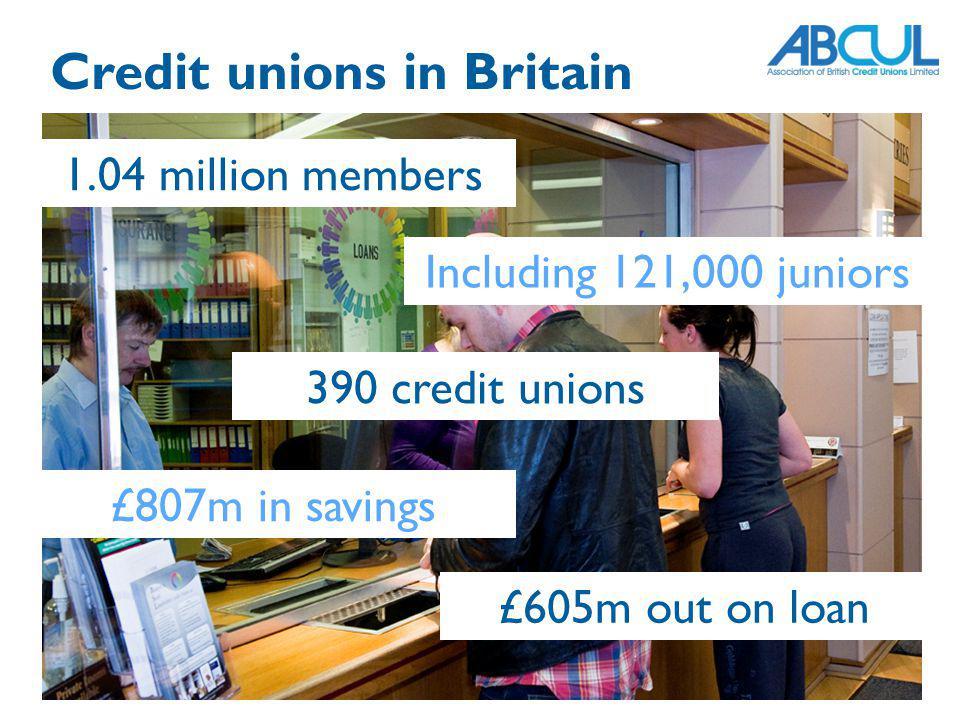 Credit unions in Britain