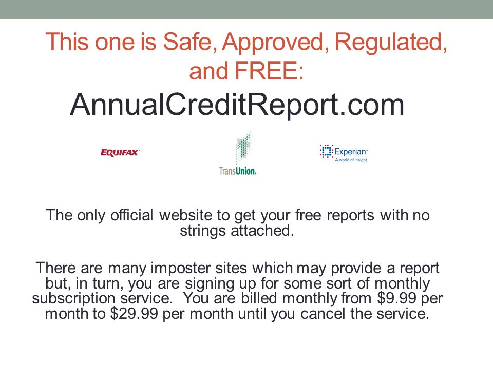 This one is Safe, Approved, Regulated, and FREE: