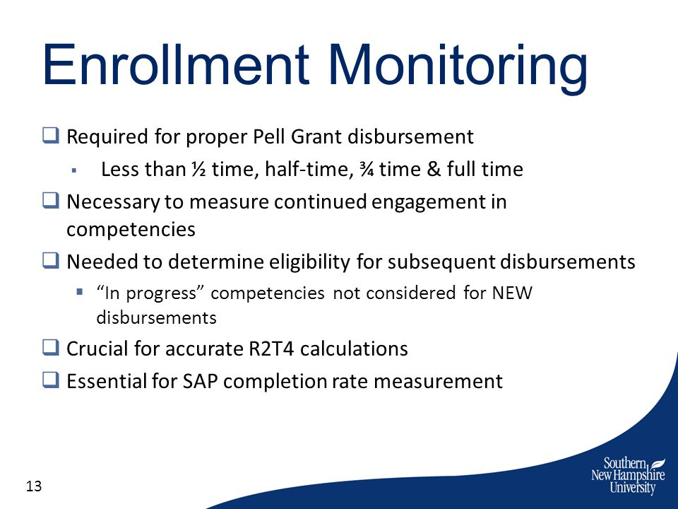 Enrollment Monitoring